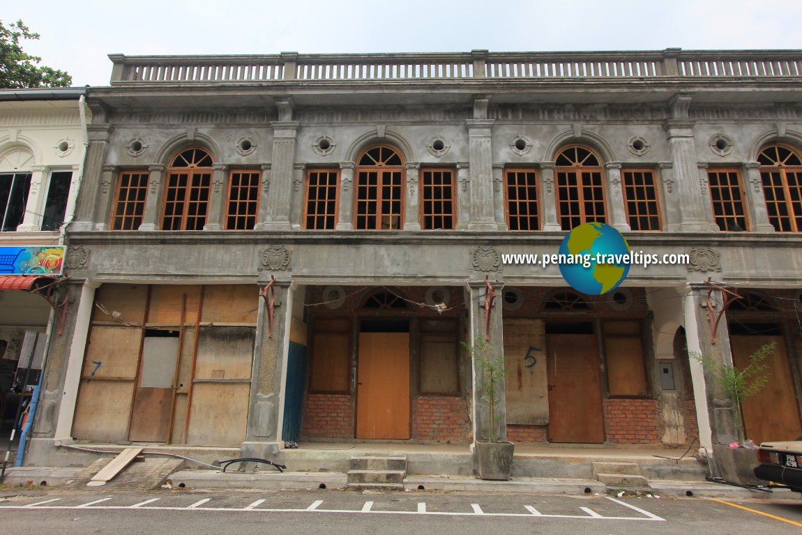 Areca Hotel during restoration