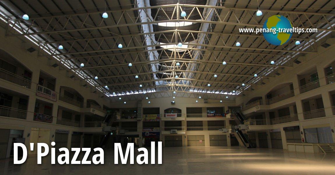 D Exhibition Penang : Dpiazza mall bayan baru penang