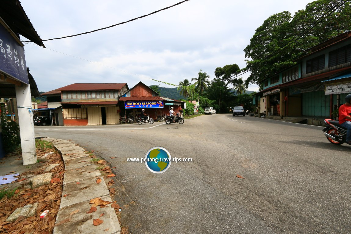 Jalan Gertak Sanggul aerial view