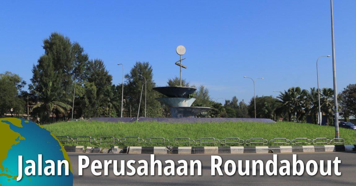 Jalan Perusahaan Roundabout