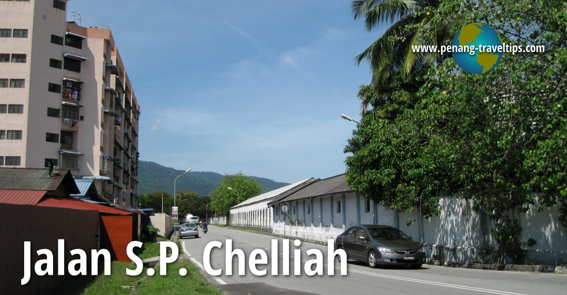 Jalan SP Chelliah, George Town