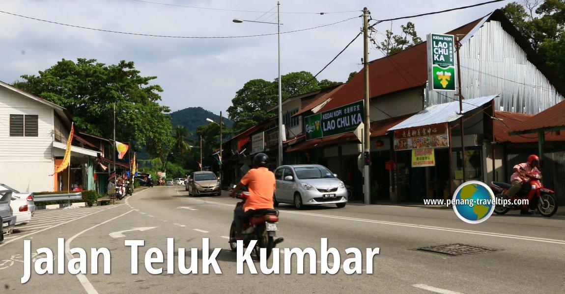 Jalan Teluk Kumbar, Penang