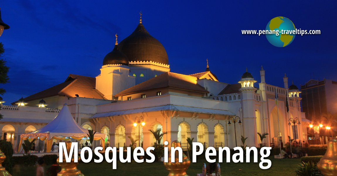 Mosques In Penang