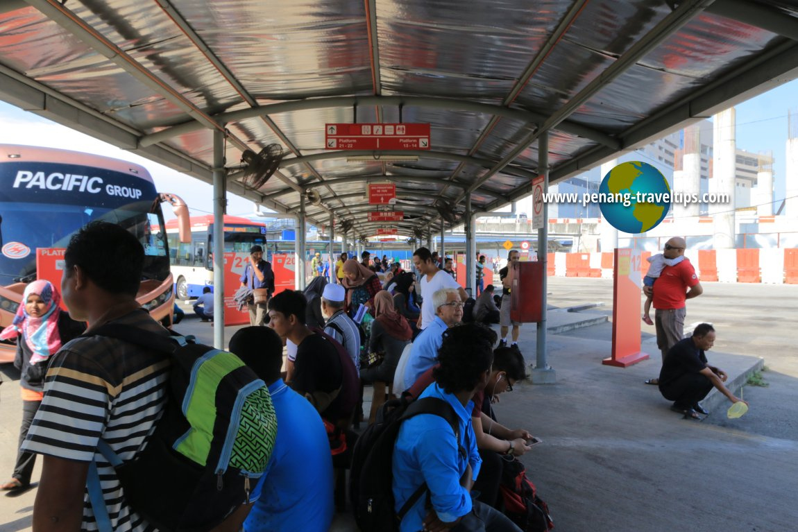 Temporary Transport Terminal, Penang Sentral