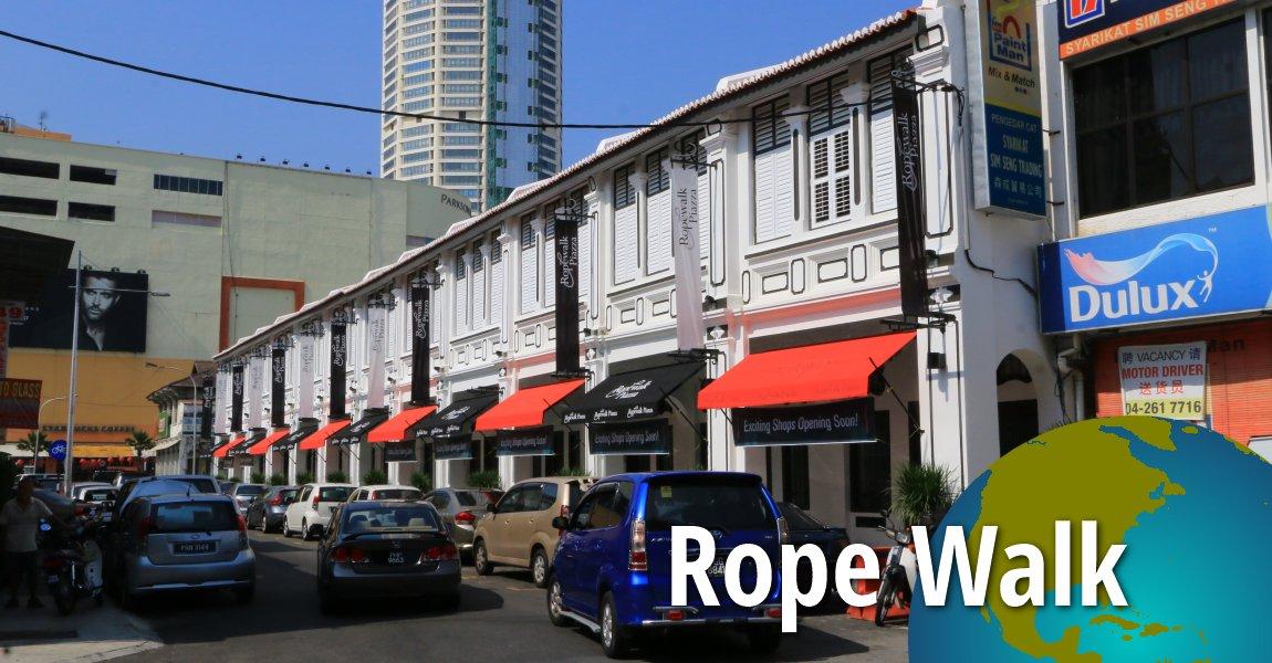 Rope Walk Jalan Pintal Tali George Town Penang