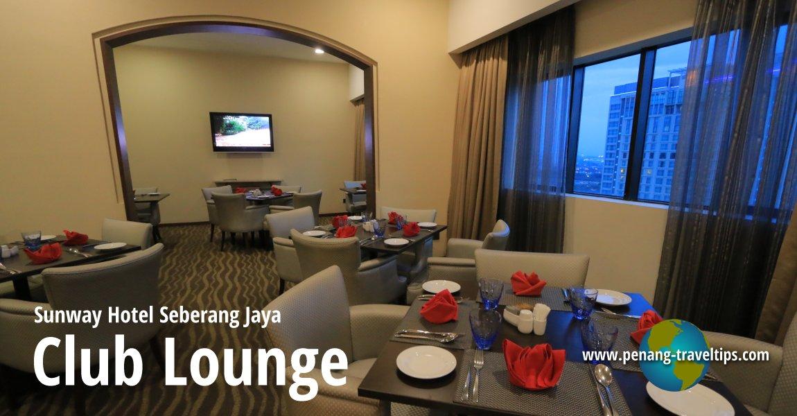 Sunway Hotel Seberang Jaya Club Lounge