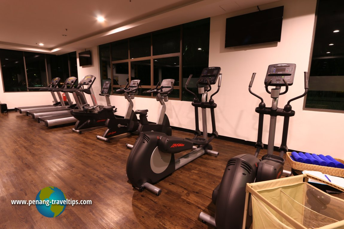Gym, The Light Hotel Penang