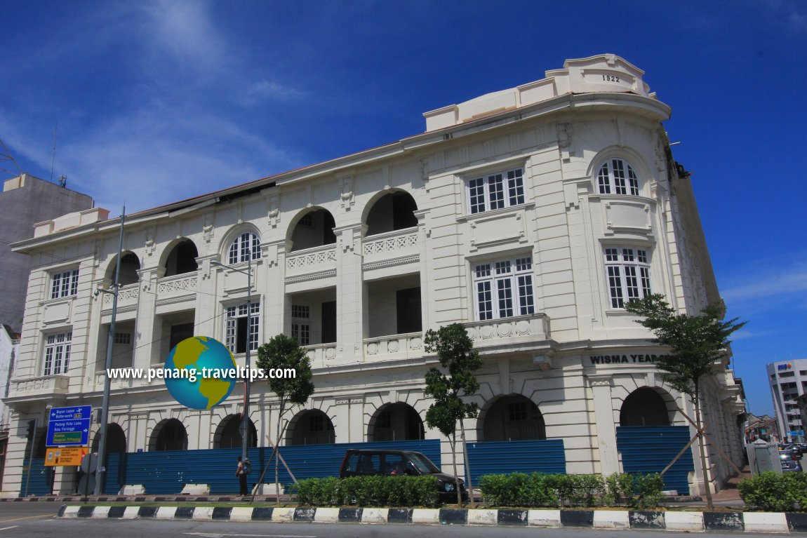 Wisma Yeap Chor Ee undergoing restoration