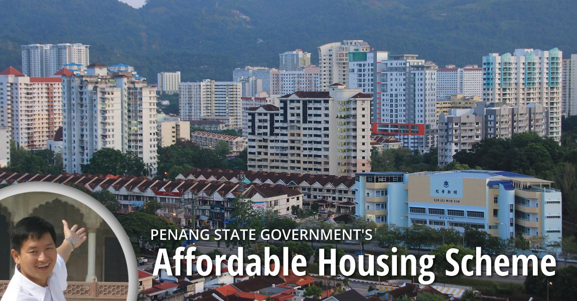 Penang State Government's Affordable Housing Scheme