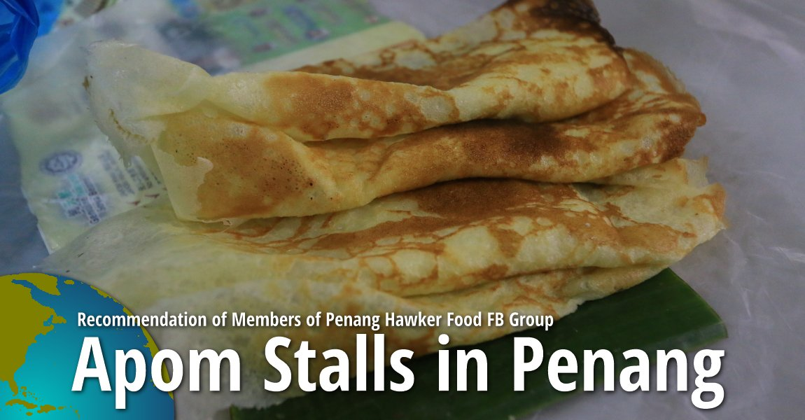 Recommended Apong Stalls in Penang