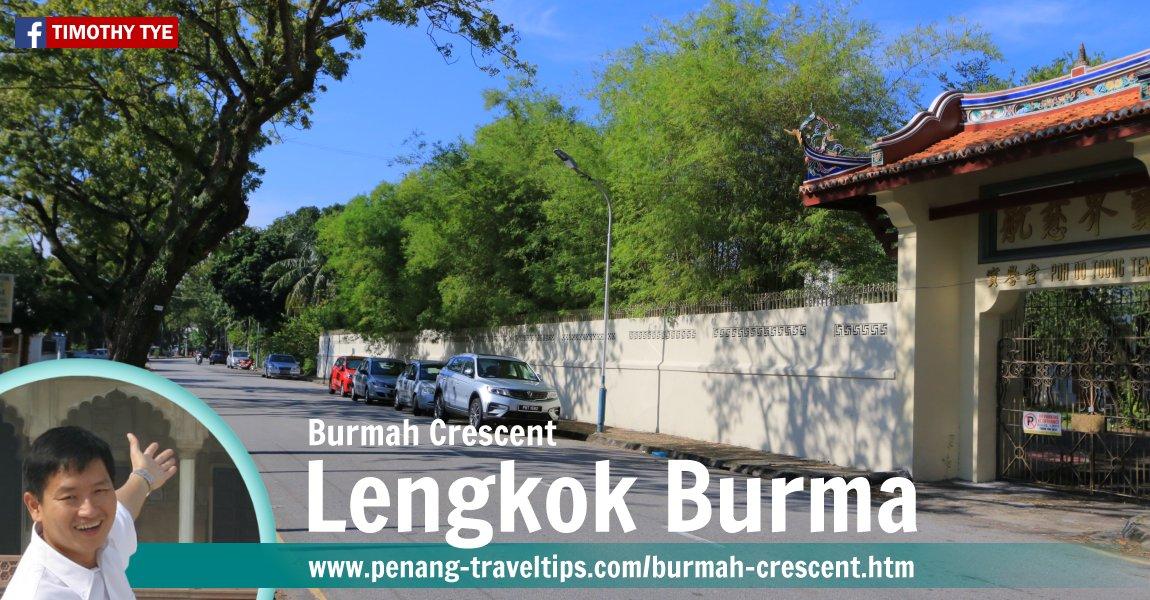 Burmah Crescent, George Town, Penang