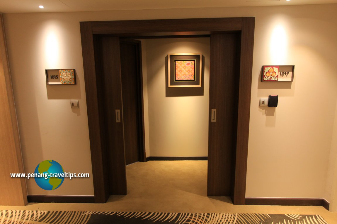 Common Hallway, DoubleTree Resort by Hilton Penang