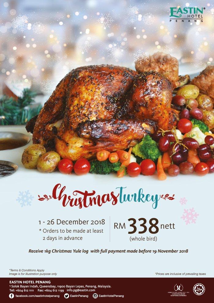 Eastin Hotel Penang's Christmas Promotion