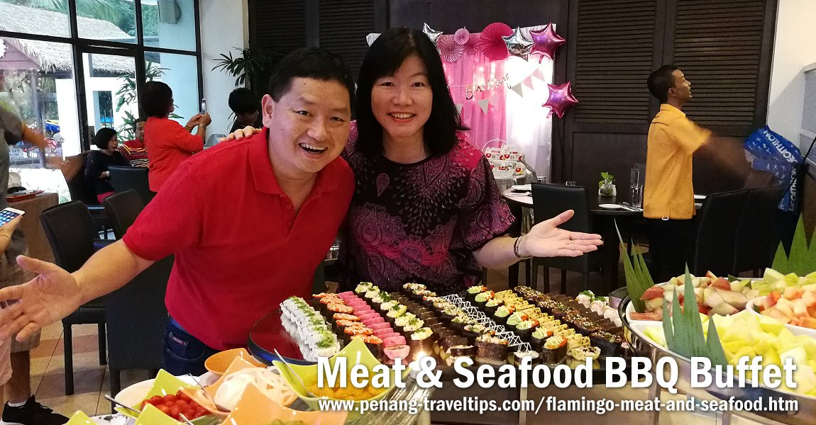 Meat & Seafood BBQ Saturday Dinner Buffet, Flamingo Hotel By The Beach