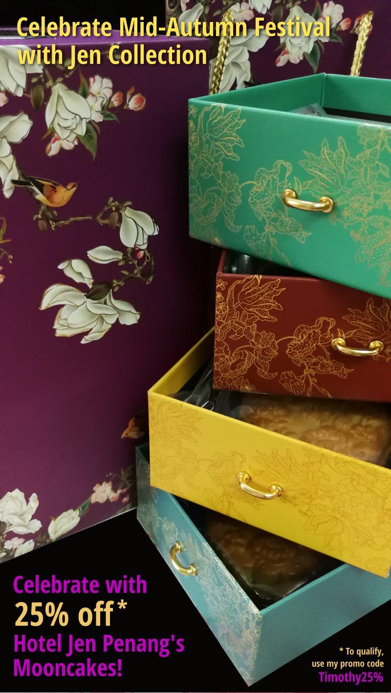 Hotel Jen Penang's 2018 Mooncake Collection