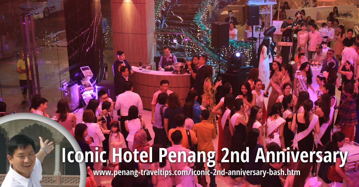 Iconic Hotel Penang's 2nd Anniversary
