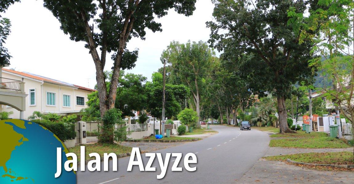 Jalan Azyze, Tanjung Bungah