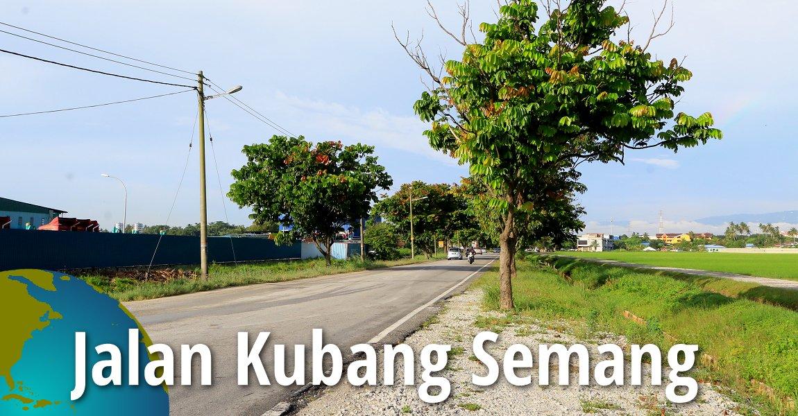 Jalan Kubang Semang, Seberang Perai Tengah