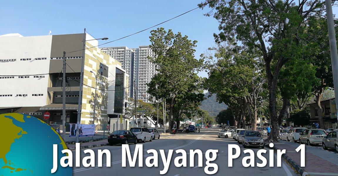 Jalan Mayang Pasir 1, Bayan Baru