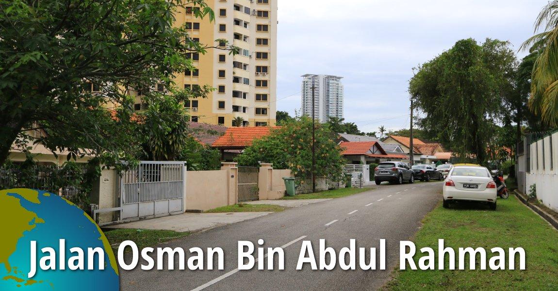 Jalan Osman Bin Abdul Rahman, Tanjung Bungah, Penang