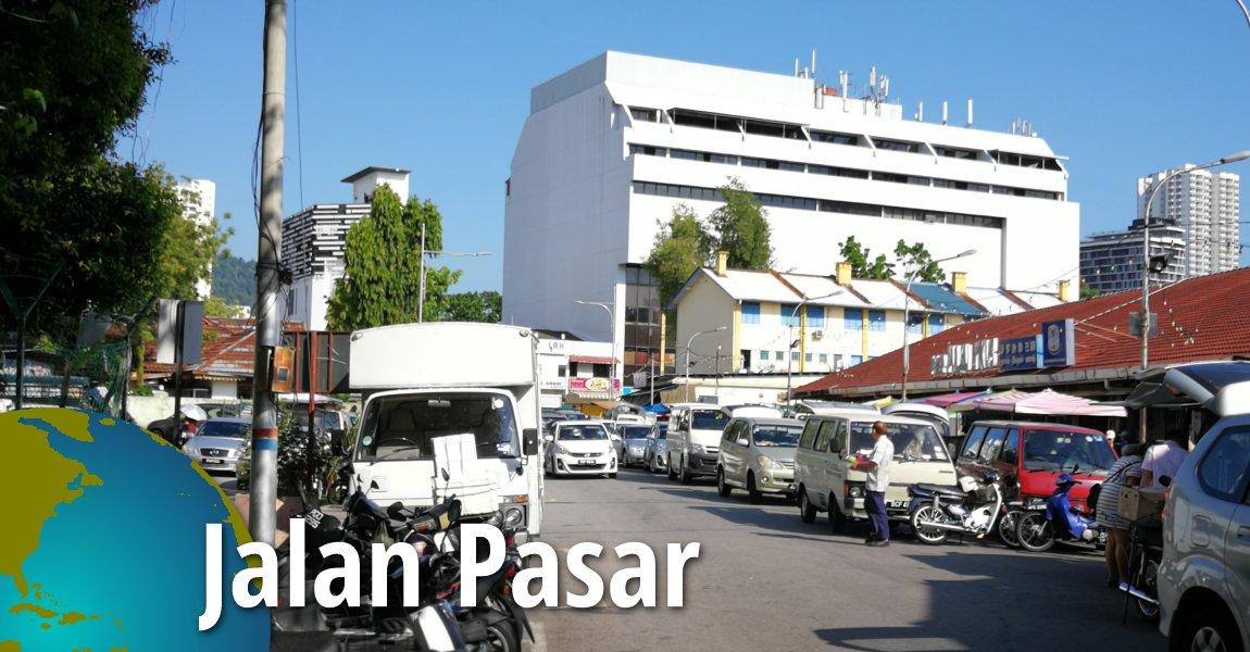 Jalan Pasar, Pulau Tikus