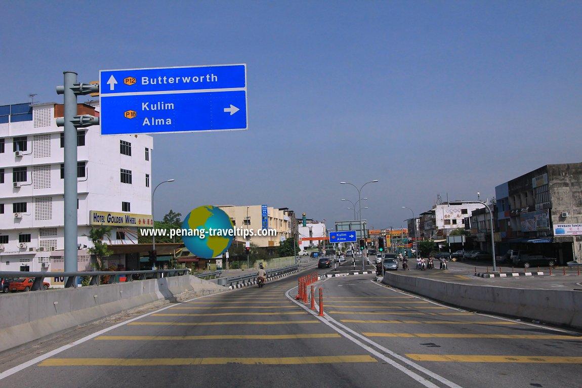 Jalan Sungai Rambai, Bukit Mertajam