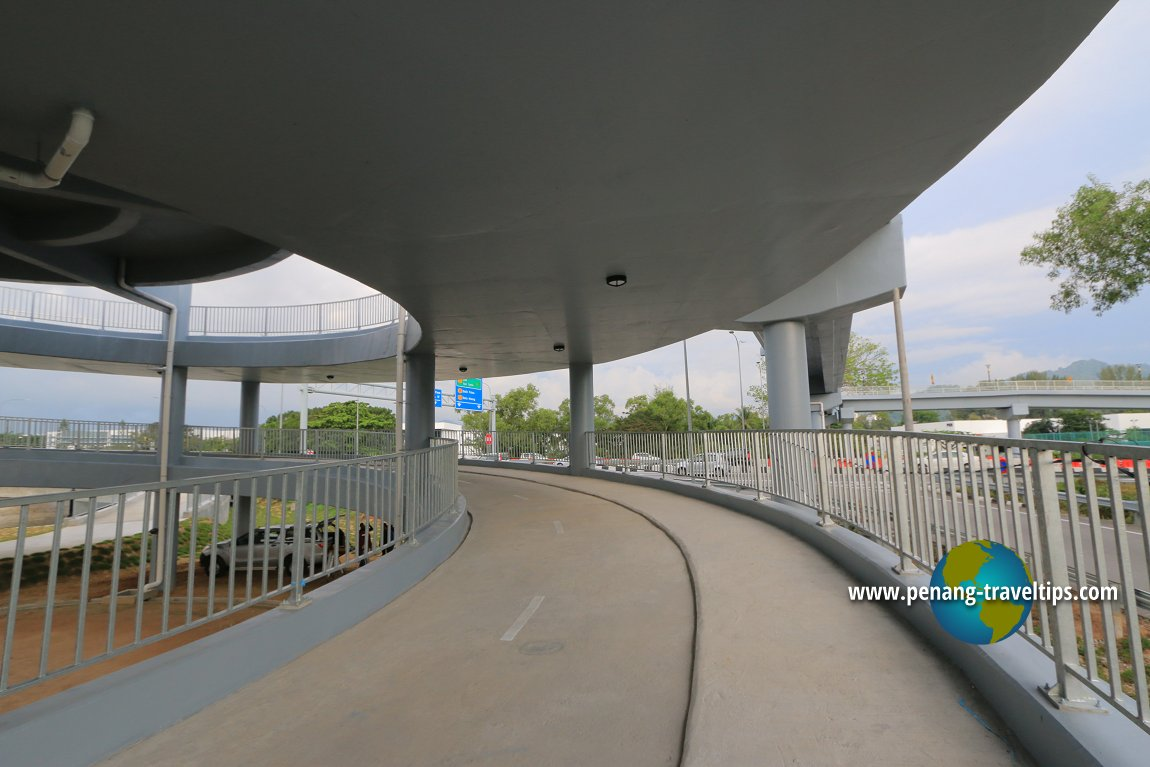 Jambatan Harapan Spiral Bicycle & Pedestrian Bridge