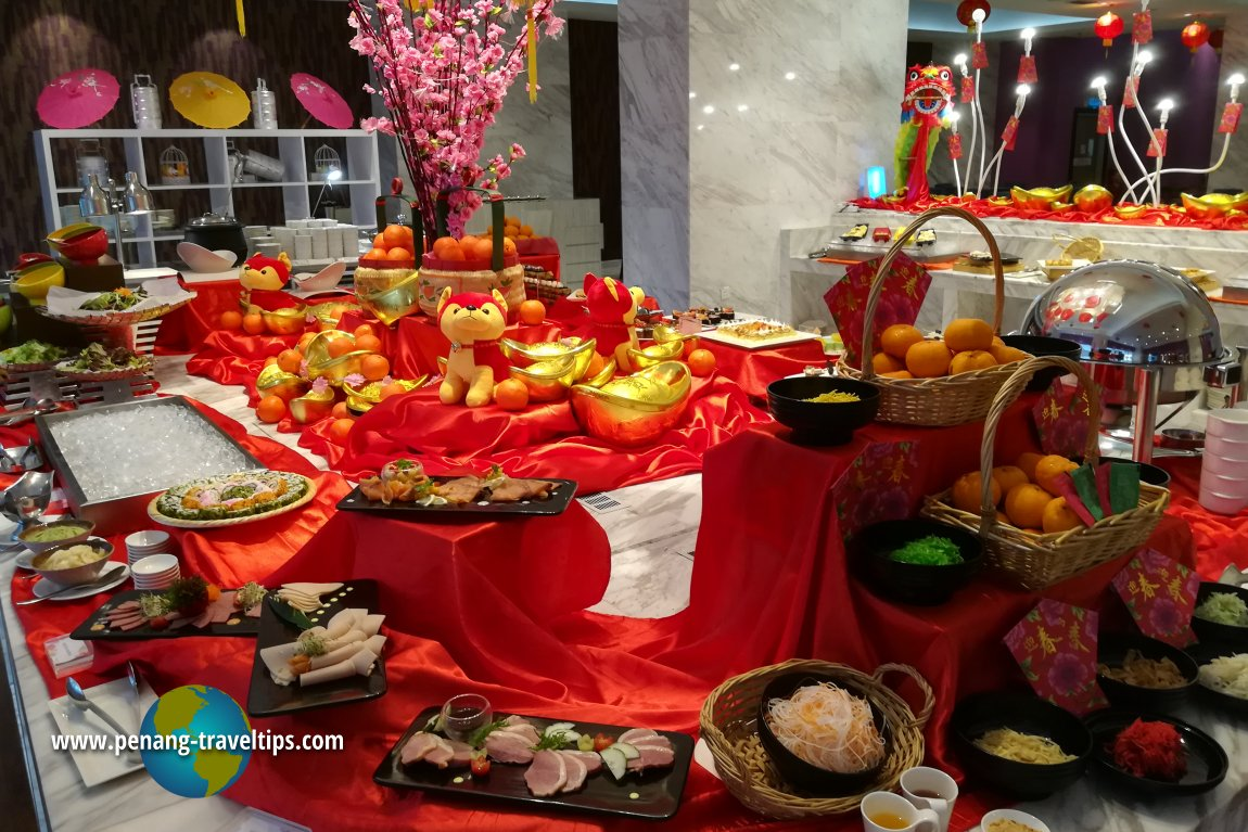 Lexis Suites Penang Chinese New Year 2018 Food Review