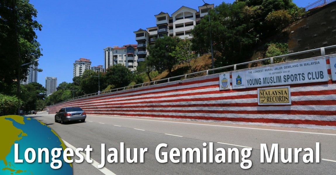 Longest Jalur Gemilang Mural, Tanjung Bungah