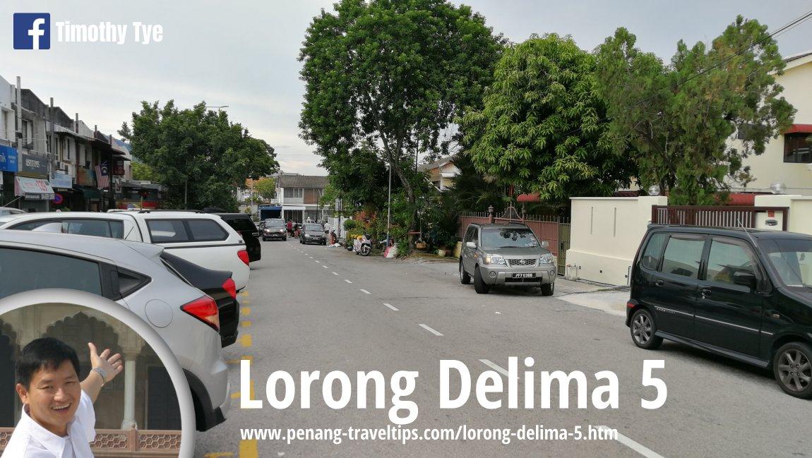 Lorong Delima 5, Island Glades, Penang