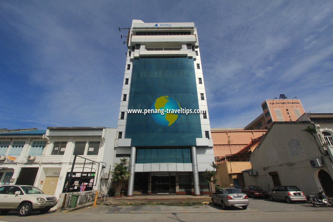 Kurnia Building on Lorong Selamat