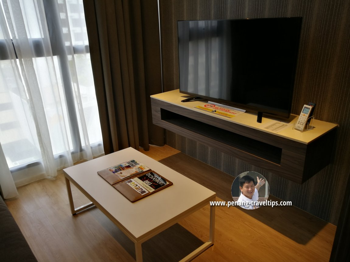 Living room, Serene Suite, M Summit 191