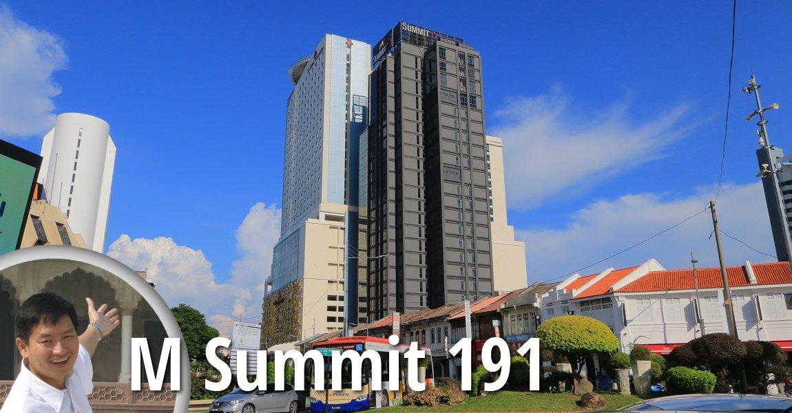 M Summit 191 in George Town, Penang