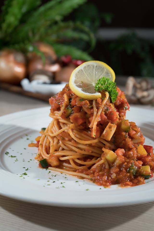 Vege Bolognese @ Mellowcup Cafe