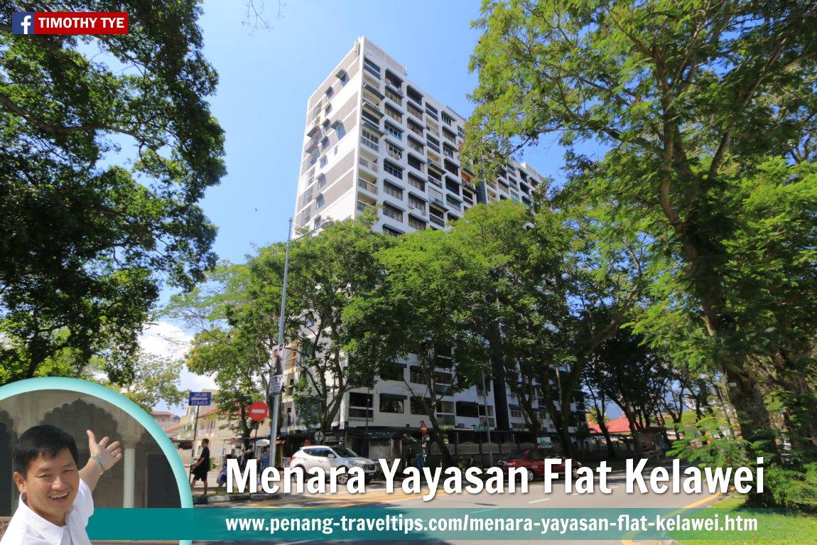 Menara Yayasan Flat Kelawei