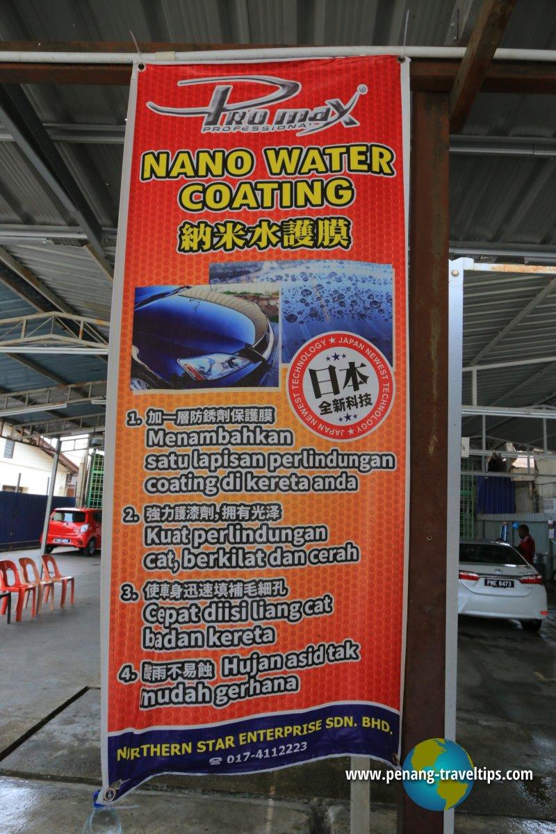 Nano Water Coating Service