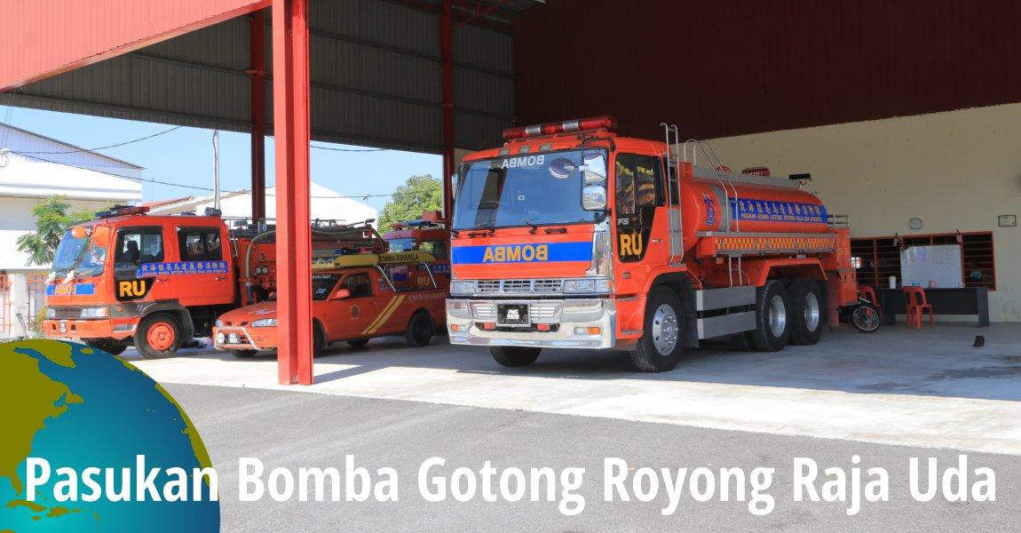 Pasukan Bomba Gotong Royong Raja Uda, Butterworth