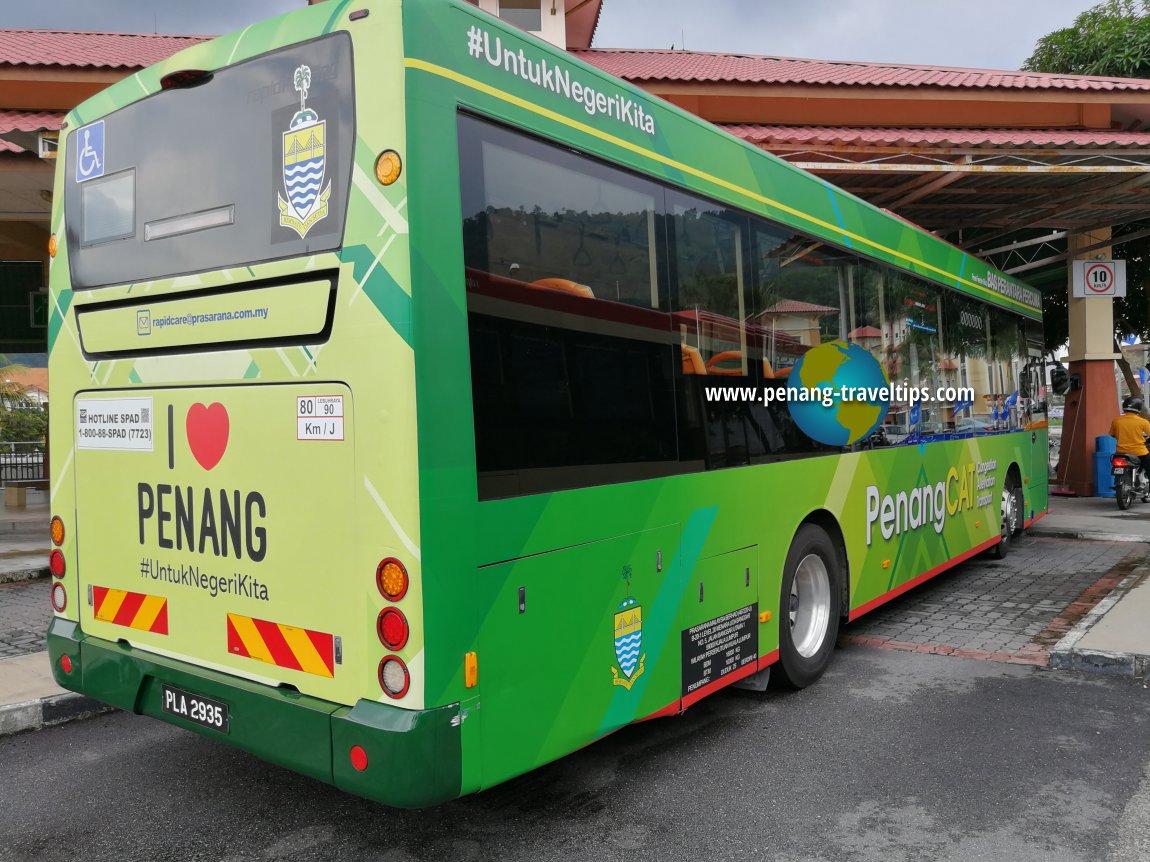 Penang CAT Free Feeder Bus
