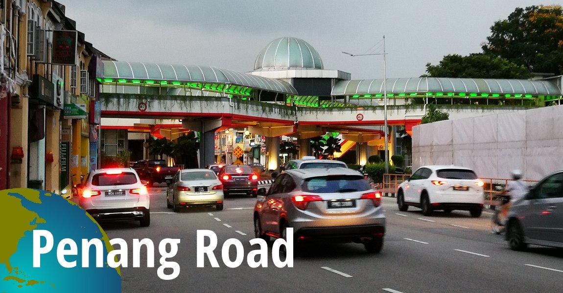 Penang Road (Jalan Penang), George Town, Penang