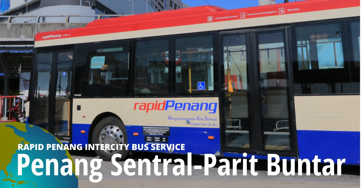 Penang Sentral-Parit Buntar Intercity Bus