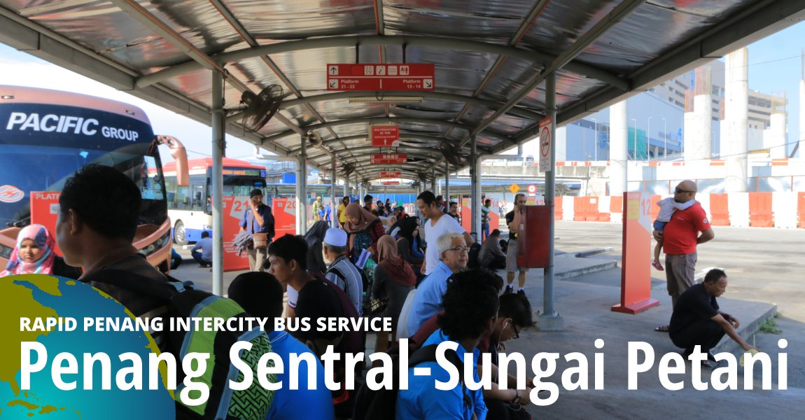 Penang Sentral-Sungai Petani Intercity Bus