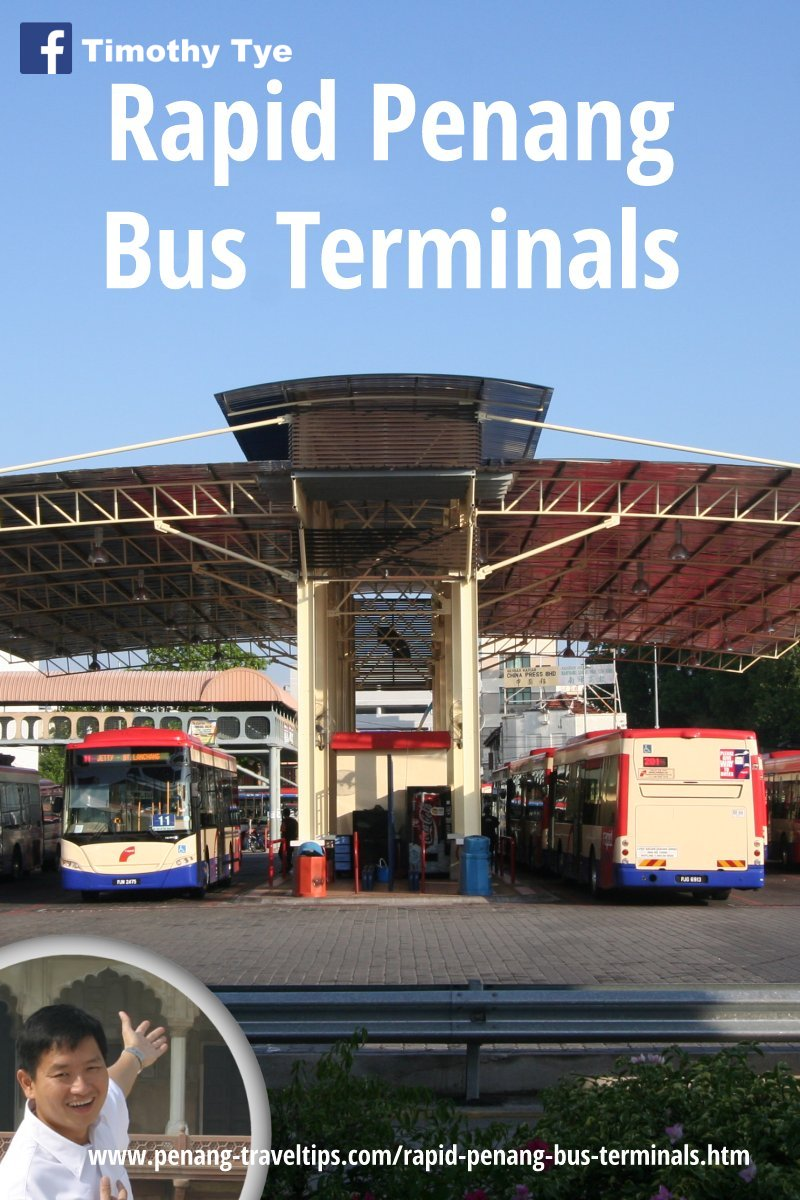 Rapid Penang Bus Terminals