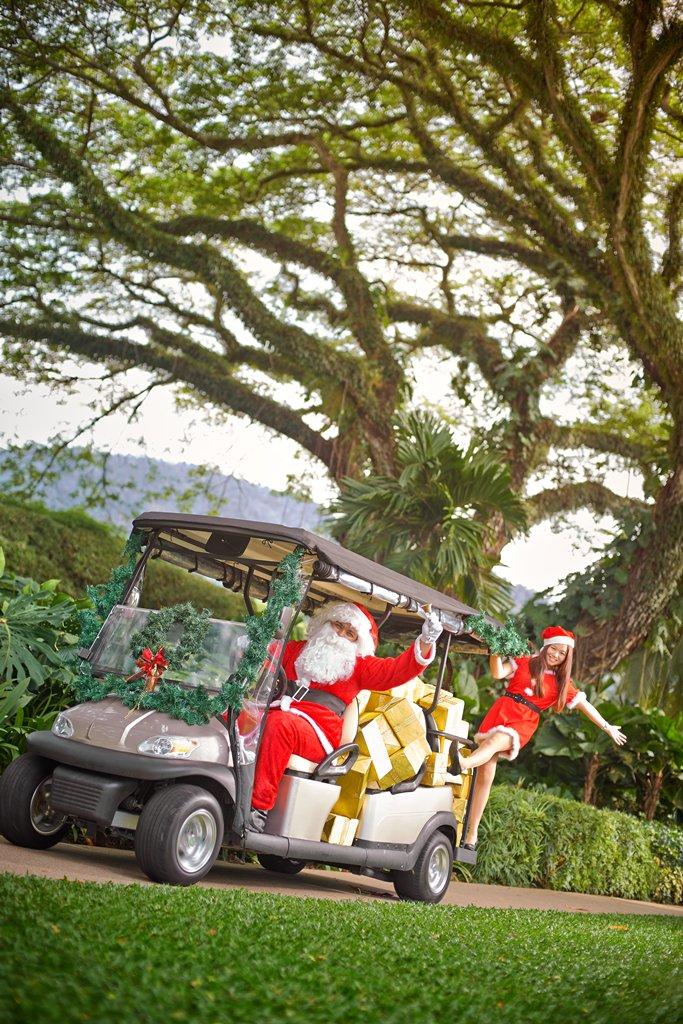 Christmas 2018 at Shangri-La's Rasa Sayang Resort & Spa