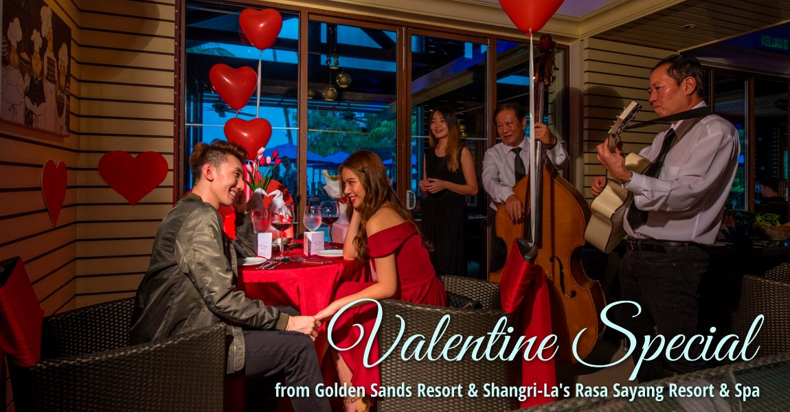 Shangri-La Hotels Penang Valentine Special 2018