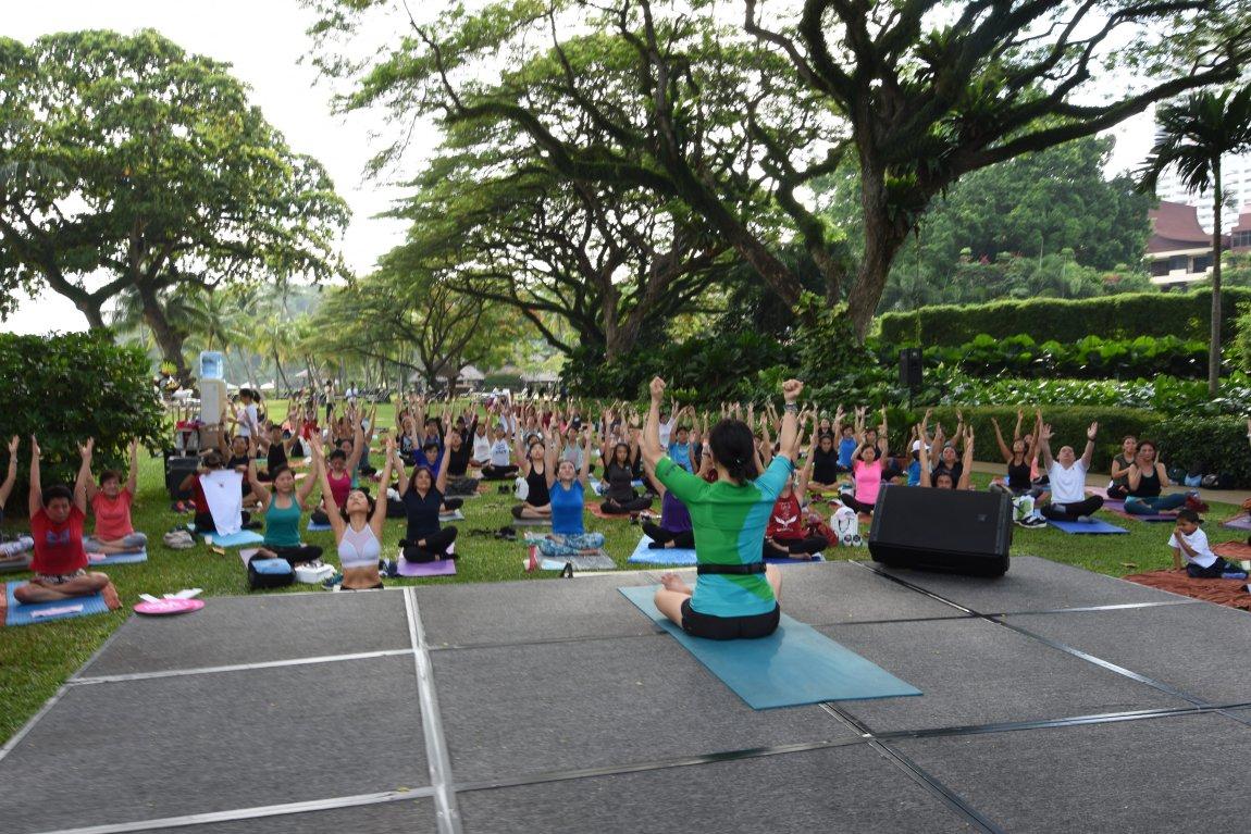 Global Wellness Day at Shangri-La Resorts in Penang