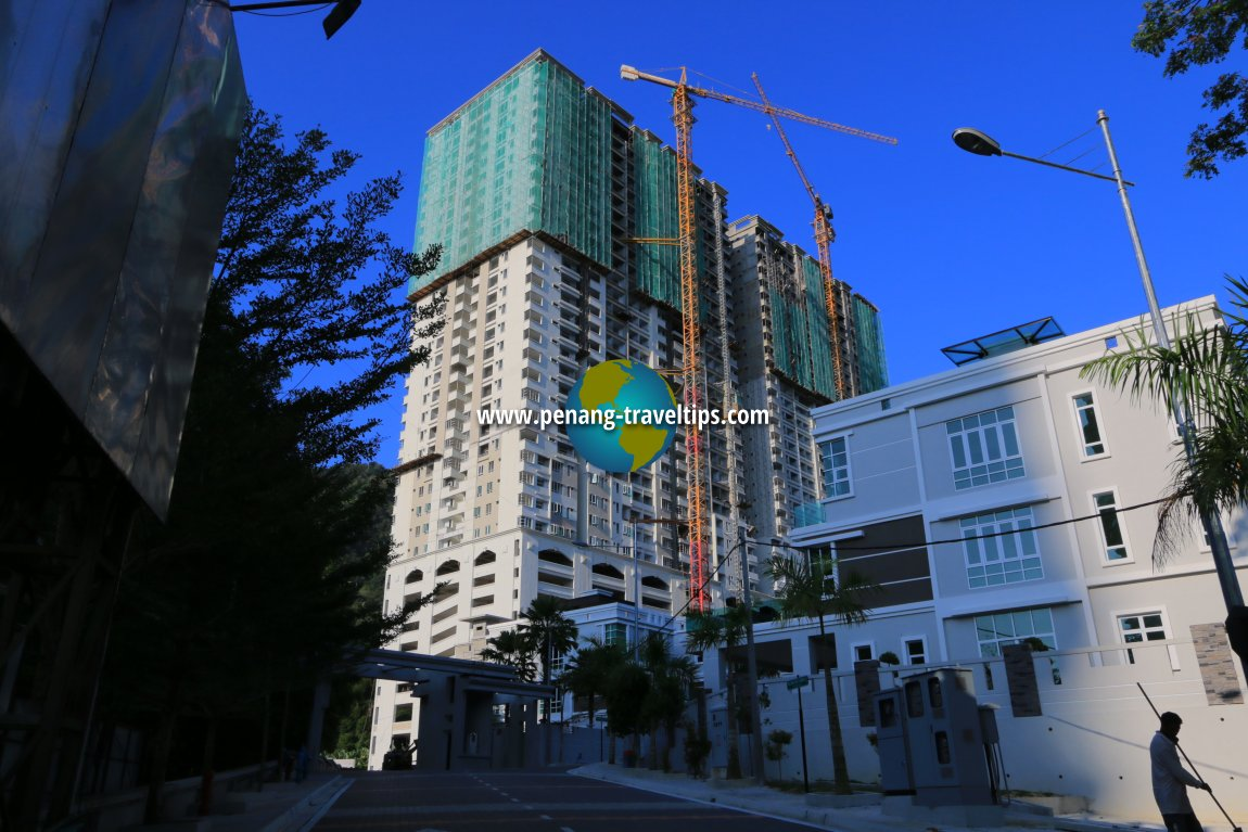 Starhill Condominium under construction