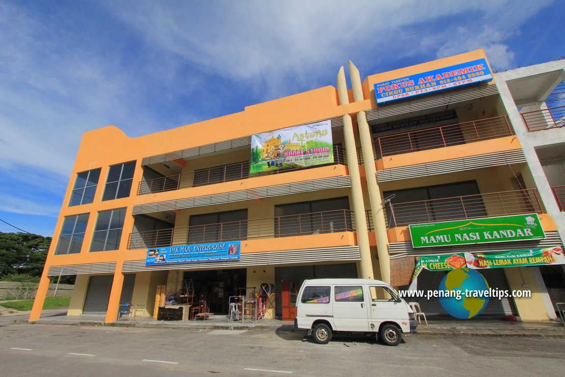 Commercial development in Sungai Nibong
