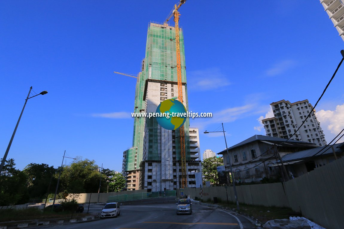 Taman Skyridge Apartment under construction