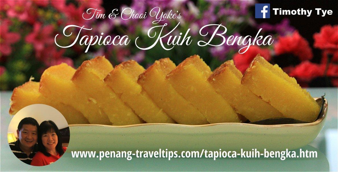 Tapioca Kuih Bengka Recipe
