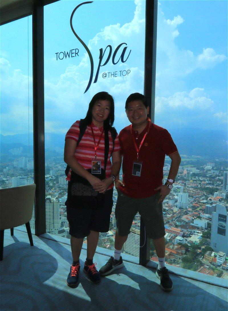 Tower Spa, Komtar Tower, Penang